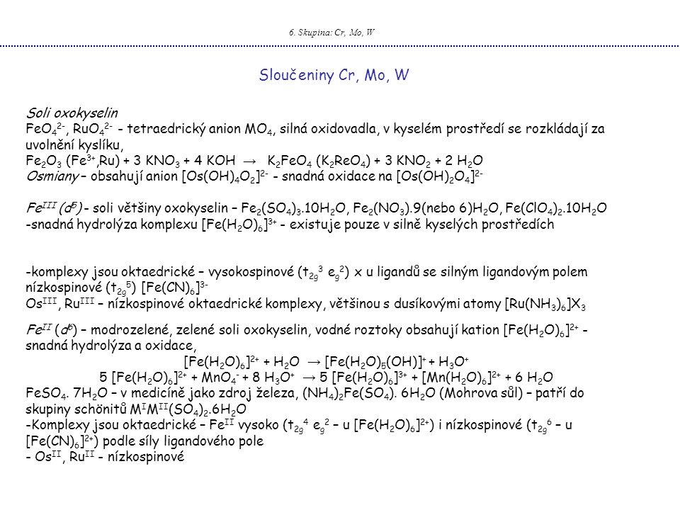 [Fe(H2O)6]2+ + H2O → [Fe(H2O)5(OH)]+ + H3O+